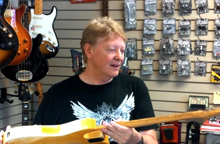Steve Blundon of Guitar Niche