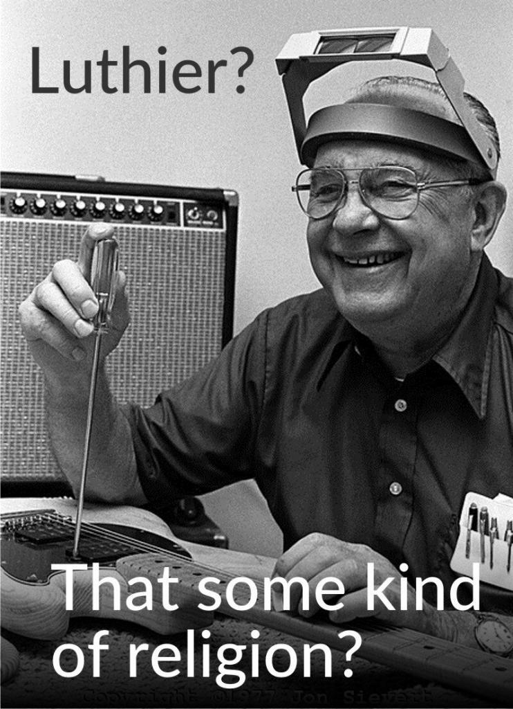 Luthier Leo Fender