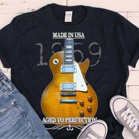 Original 1959 Les Paul Guitar T-Shirt