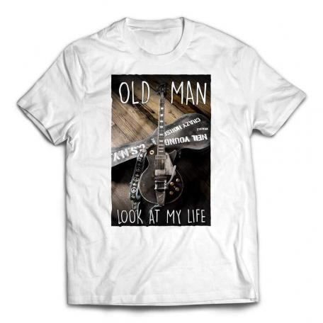 Old Man Look At My Life T-Shirt - White