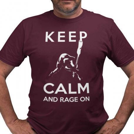 Smashing Bass Guitar Keep Calm T-Shirt