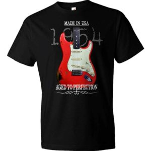 Aged To Perfection 1954 Fender Stratocaster T-Shirt