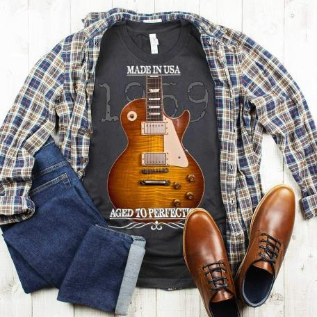 Aged To Perfection 1959 Gibson Les Paul Burst T-Shirt