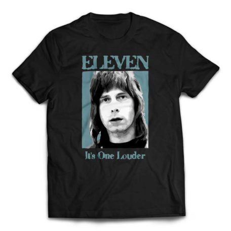 Eleven - It's One Louder Nigel Tufnel T-Shirt - Black