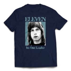 Eleven - It's One Louder Nigel Tufnel T-Shirt - Navy