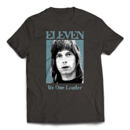 Eleven - It's One Louder Nigel Tufnel T-Shirt - Smoke