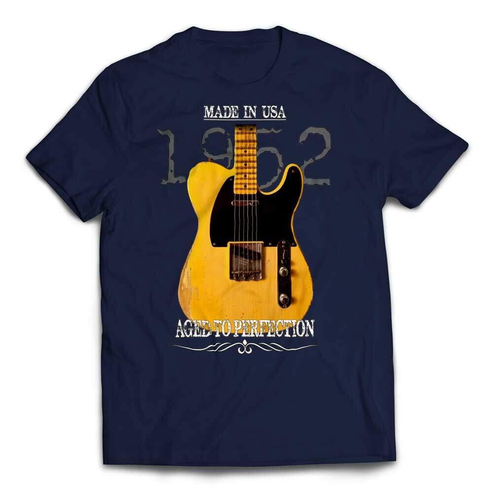 aged 1952 fender telecaster t shirt guitar niche. Black Bedroom Furniture Sets. Home Design Ideas