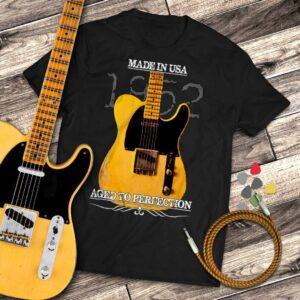 Classic 1952 Fender Telecaster Guitar T-Shirt