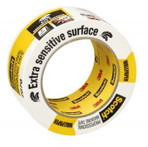 Safe-Release Painters' Masking Tape For Very Delicate Surfaces