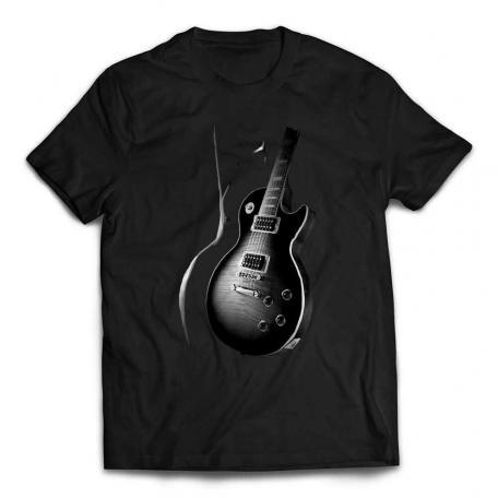 Awesome Les Paul Guitar T-Shirt - Black