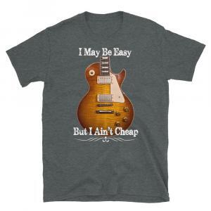 Classic Les Paul Guitar I May Be Easy T-Shirt