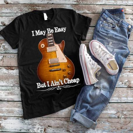 Gibson Les Paul Guitar - I May Be Easy T-Shirt