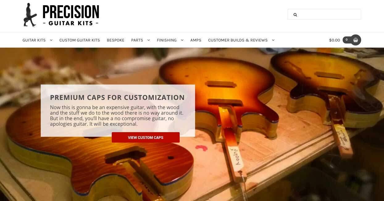 Precision DIY Guitar Kits