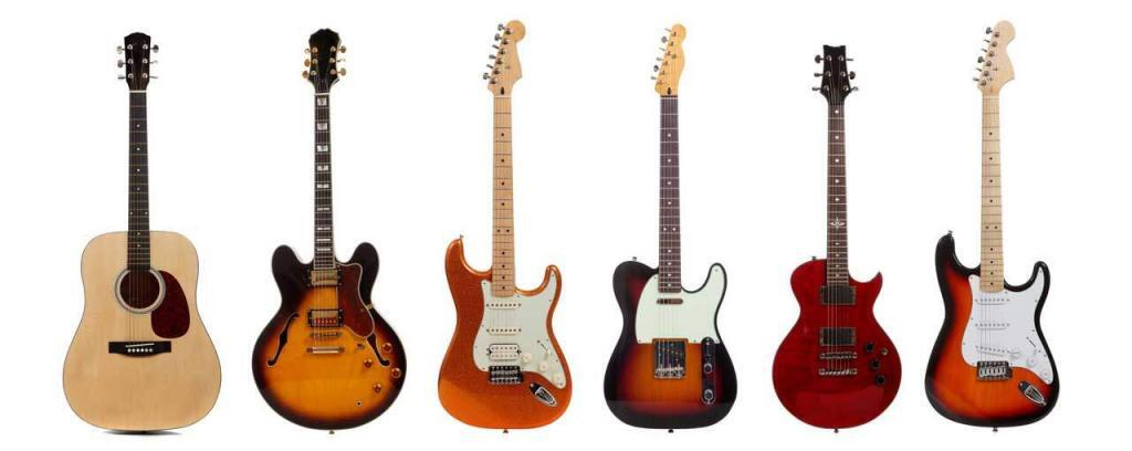 types of guitars