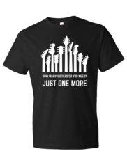 How Many Guitars Do You Need Rock Guitar T-Shirt