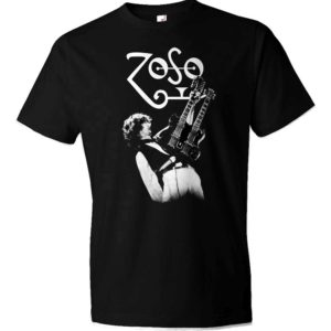 Jimmy Page Zoso Guitar T-shrt