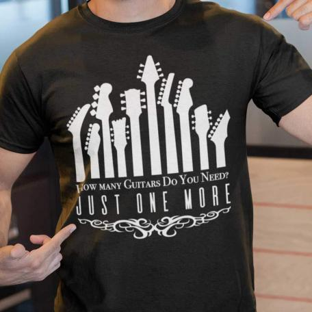 Just One More Guitar T-Shirt