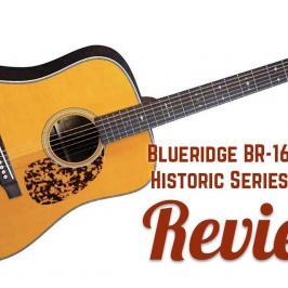 Blueridge BR-160 Sitka Historic Series Dreadnought Guitar Review