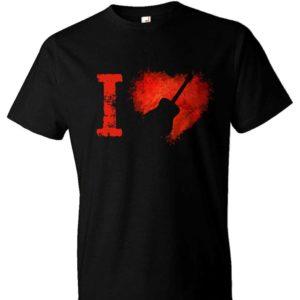 I Love Acoustic Guitars T-shirt
