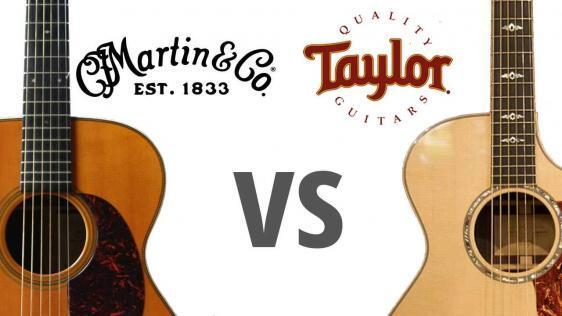 Martin VS Taylor Guitars