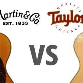Martin vs Taylor: Which Guitar is Right for You?