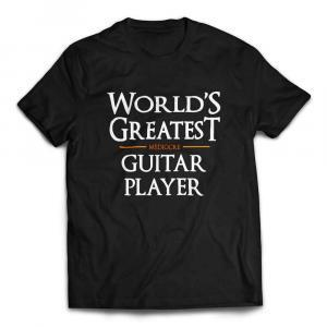 World's Greatest Mediocre Guitar Player - Black