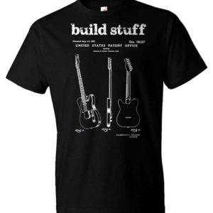 Fender Patent Telecaster Guitar T-shirt