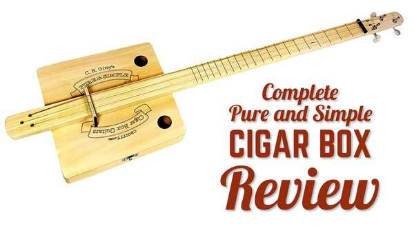 Complete Pure & Simple Cigar Box Guitar Kit Review