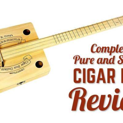 Complete Pure and Simple Cigar Box Guitar Kit Review