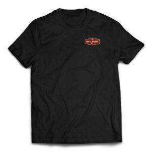 Guitar Niche Tee – Badge Logo - Black