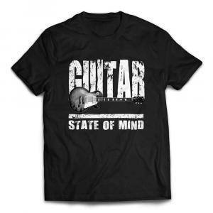 Gibson Les Paul State Of Mind Guitar T-shirt - Black