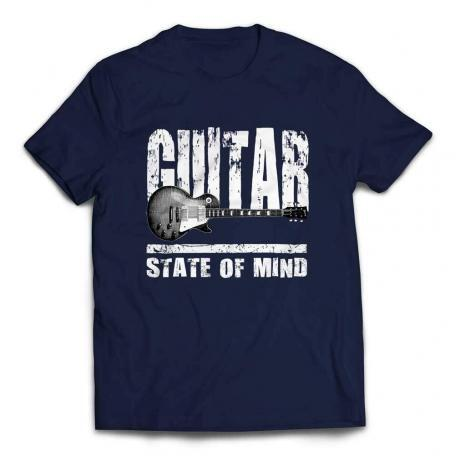 Gibson Les Paul State Of Mind Guitar T-shirt - Navy