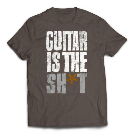 Guitar Is The Shit T-shirt - Army