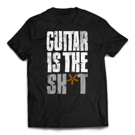 Guitar Is The Shit T-shirt - Black