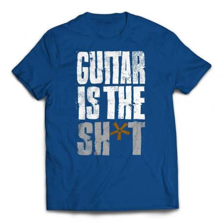Guitar Is The Shit T-shirt - True Royal