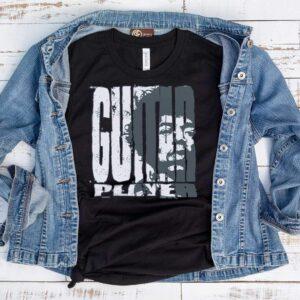 Jimi Hendrix Guitar Player T-shirt - black