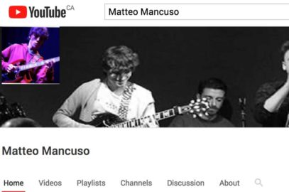 Best New Guitar Players – Matteo Mancuso