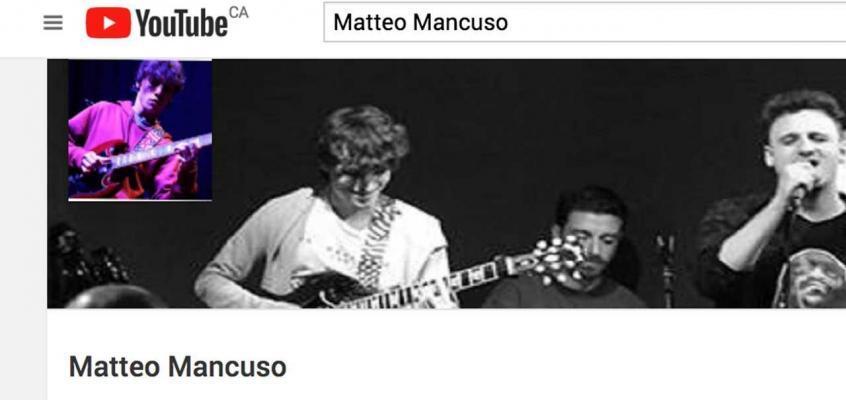 Matteo Mancuso Guitar