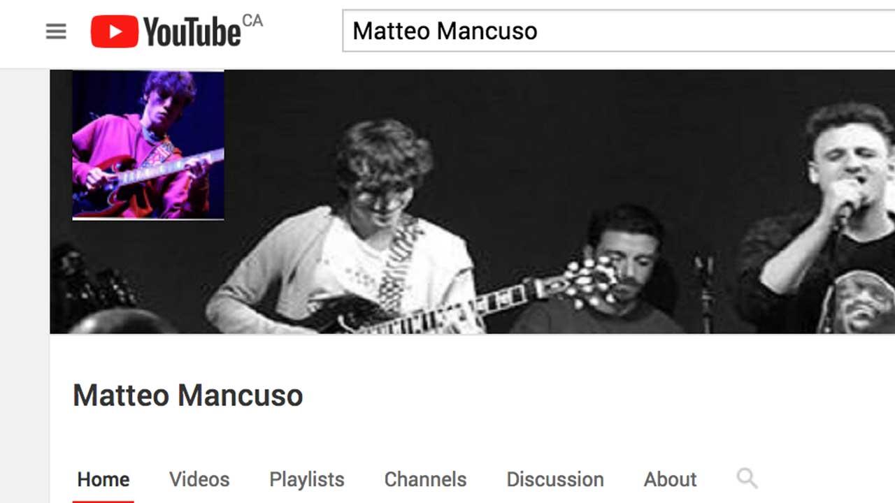 Guitar Niche - Matteo Mancuso