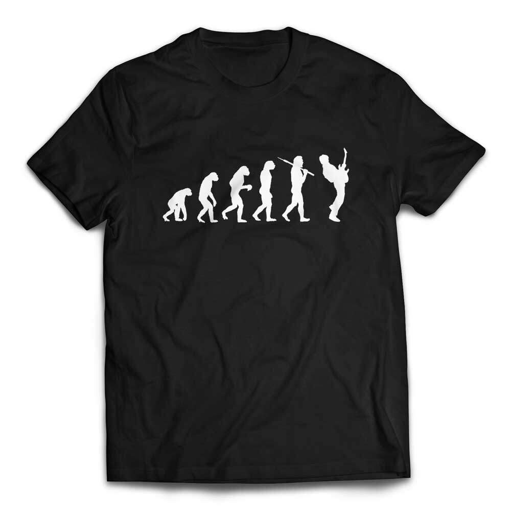 Evolution of a Guitarist Guitar Player T Shirt - Black