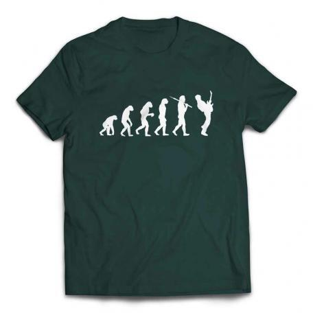 Evolution of a Guitarist Guitar Player T Shirt - Forest