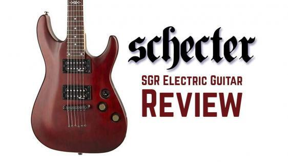 Schecter-C1-SGR Electric Guitar