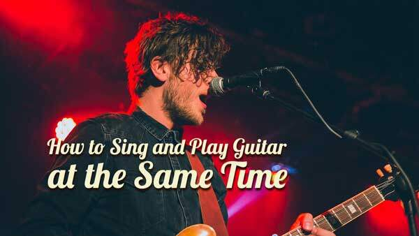The Battle of Coordination: How to Sing and Play Guitar at the Same Time