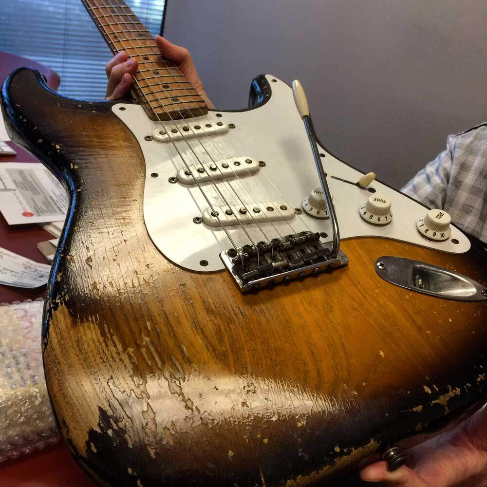 Stratocaster Serial #0014