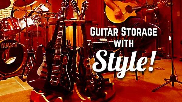 Store Your Guitars in Stunning Style