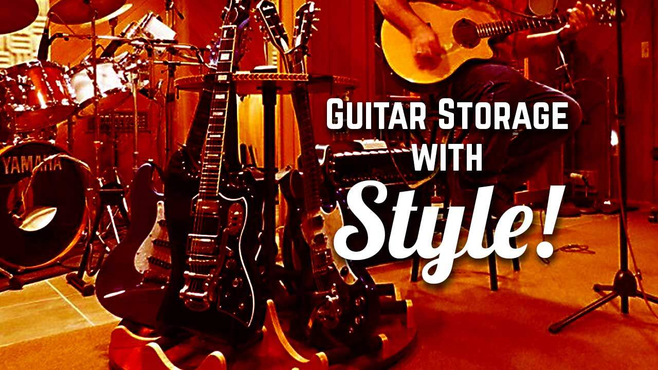 GuitarStorage.com Multi Stands