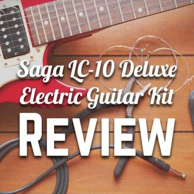 Saga LC-10 Deluxe Electric Guitar Kit Review