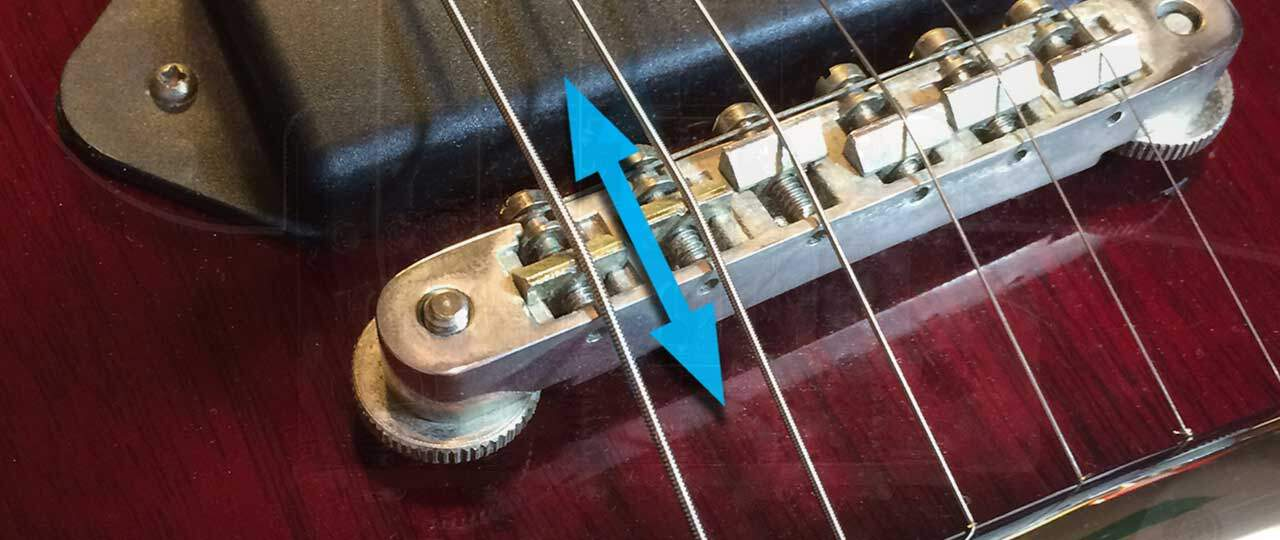 Les Paul Intonation Adjustment