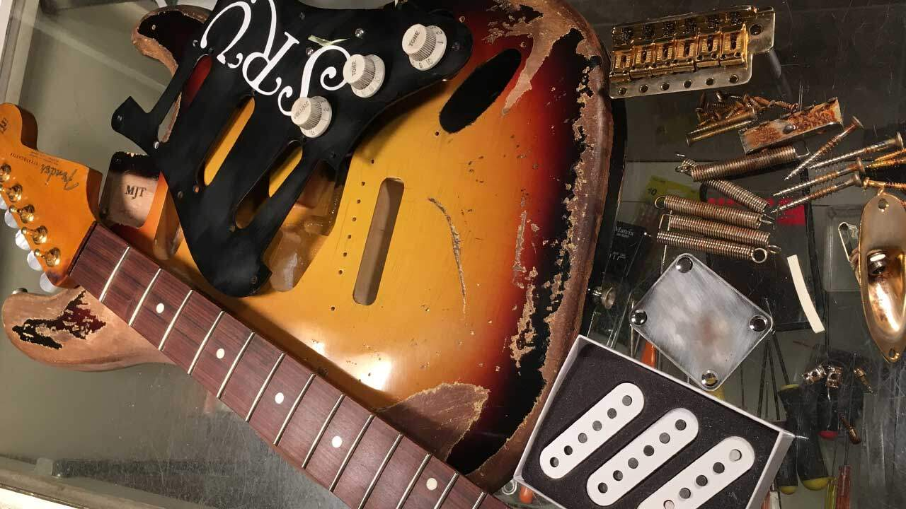 Building an SRV Replica Guitar