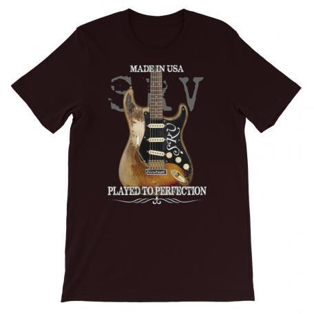 Stevie Ray Vaughan Number One Strat T-shirt